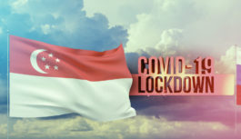 シンガポールが部分的なロックダウンに突入